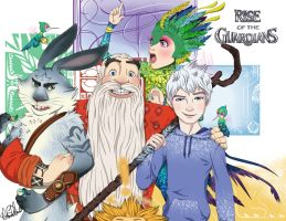 RotG: Group Pic/Happy New Year! by VanillaKeyblade