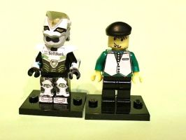 LEGO Tiger and Bunny by 0yakata