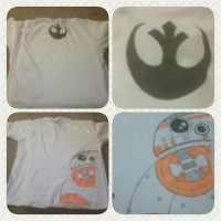 BB8 Shirt Collage by IihsirukAneet