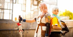 Final Fantasy XIII: Light and Hope by Saabon