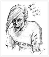 Davey 'Zombie' Havok by Drawingremy