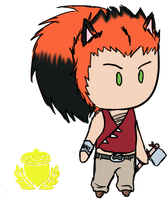 Chibi Nuts: Leo by Lexial-XIII