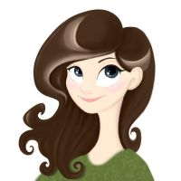 Brown Haired Girl by Fli-nn