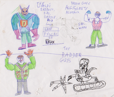 Bad Guys In 2002 by WhippetWild