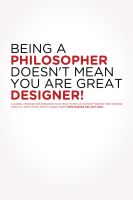 Philosopher=Designer? by Shewa06