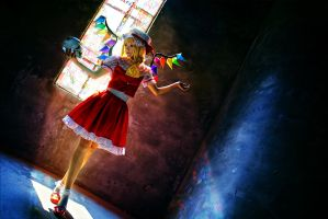 Touho Project - Flandre Scarlet by wooshiyong