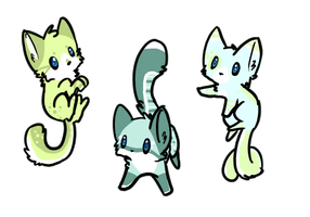 Kitten Adoptables .:Closed:. by KittKattAdoptables