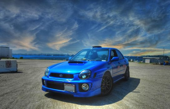 HDR WRX by melodicnitemare