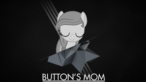 Button's Mom Wallpaper by VisualizationBrony