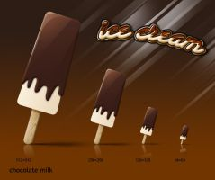 ice cream icon series-4 by rockingonion