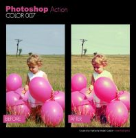 Photoshop Action - Color 007 by primaluce