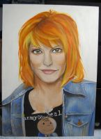 Hayley Williams 9 by threatened-angel