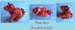 Peaches Dreamrazor MLP by ilikeshiniesfakery
