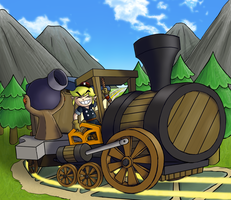 All Aboard the Link Train by ChetRippo