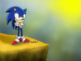 Sonic Again by TheIransonic