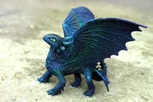 Rainbow Toothless version by hontor