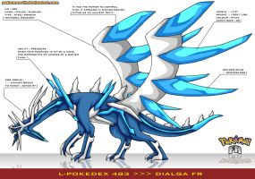 L'Pokedex 483 - Dialga FR by Pokemon-FR