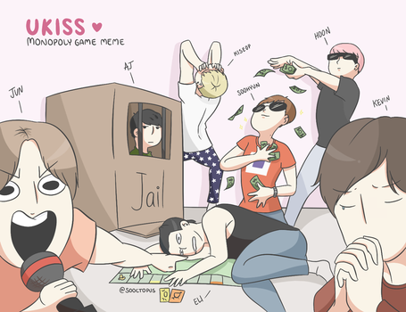 UKISS Monopoly Meme by sooctopus