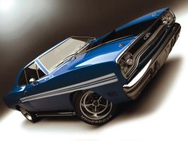GTX in blue by Missionaryrdr