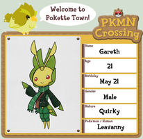 PKMN Crossing App: Gareth by Arachnocampa