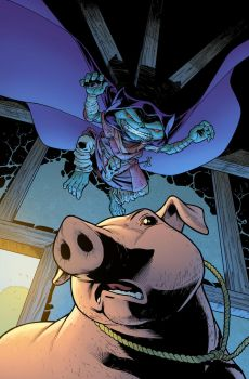 Pathfinder: Goblins #2  Magic Pig alternate cover by bonvillain