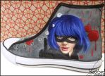 Hitgirl Shoe by GamerGirl84244