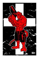 Hellboy Hell yeah by deaddays