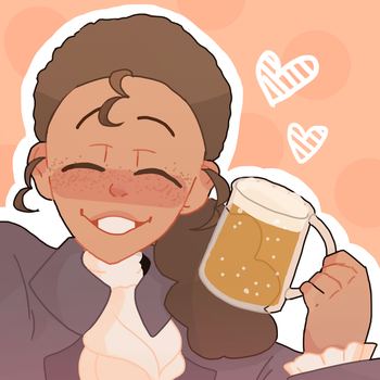 Raise a glass to freedom~ | Hamilton by PandicornQueen