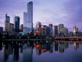 Melbourne City by Cityneon