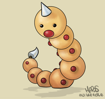 013: Weedle by Mabelma