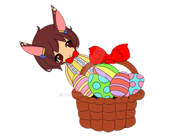 HappyEaster.~ by dessiechan