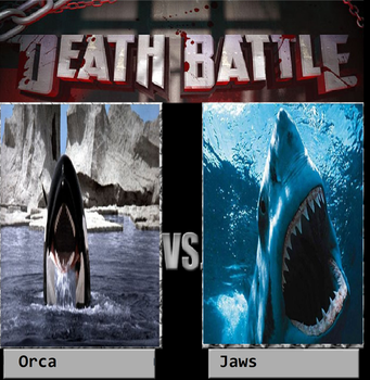 Orca The Killer Whale Vs Jaws by KeybladeMagicDan