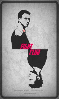 Fight Club Poster by ShaheenNariman