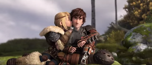 Astrid x Hiccup by mumblealice17