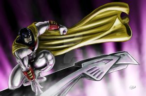 SpaceGhost by TheArtofScott