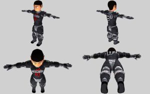 B Soldier modelling complete by Terrarist
