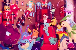 Wild pokemon Xmas 2011D by Ninja-Jamal