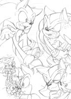 Sonic Doodlezzz: 32 by Narcotize-Nagini
