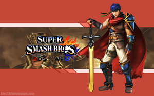 Ike Wallpaper - Super Smash Bros. Wii U/3DS by AlexTHF