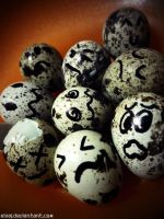 End of the Quail Eggs by eivaj