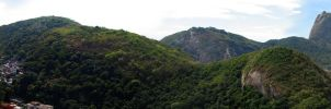 Sight from the Morro do Leme 2 by ViniciusDoideira