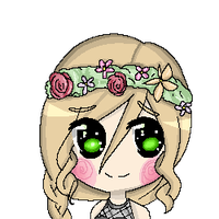 Doodles with pixel things by KUUMA-CHAN