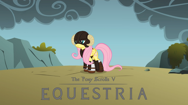 The Pony Scrolls V EQUESTRIA Flutterborn by MCWopper