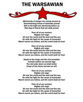 The Warsawian Song Sheet by Party9999999