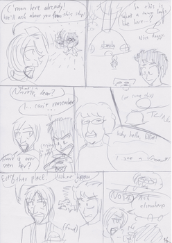 Unnamed Comic Page 16 Rough Draft by C-Survive