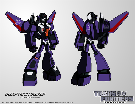 TF:Ignition - Decepticon Seeker (Cyb.Robot Mode) by KrisSmithDW