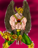 Savage Hawkman by spriteman1000