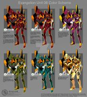 Evangelion Color Scheme by Ernz1318