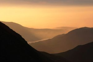 Coledale Sunset by scotto