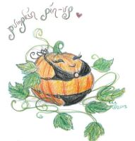 Pumpkin Pin-Up